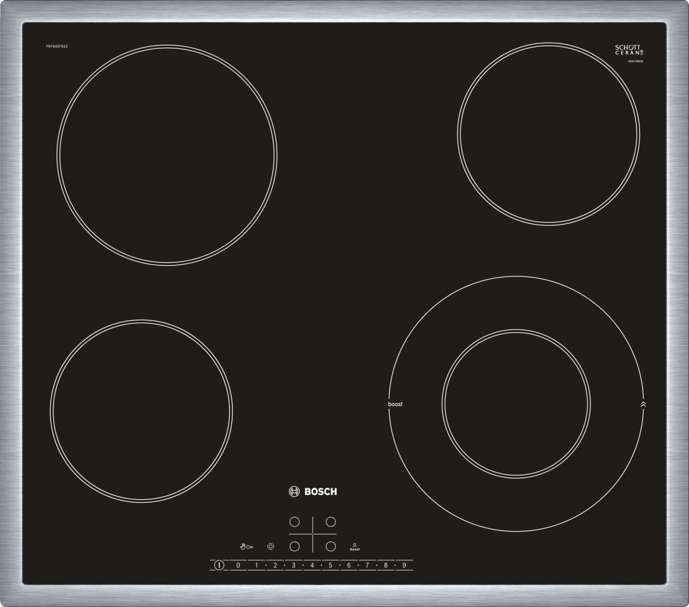 bếp điện Bosch PKF645FN1E
